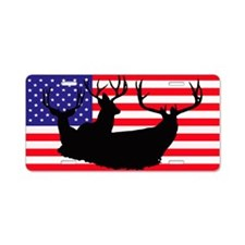 Patriotic hunter Aluminum License Plate