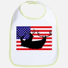 Patriotic hunter Bib