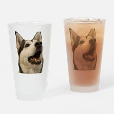 The Alaskan Husky Drinking Glass