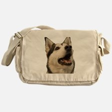 The Alaskan Husky Messenger Bag