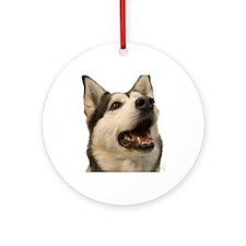 The Alaskan Husky Ornament (Round)