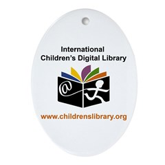 ICDL Oval Ornament