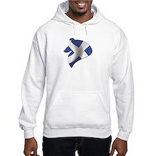 Scotlands Warrior Hoodie Sweatshirt