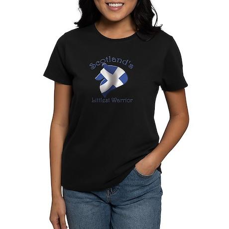 Scotland's Littlest Warrior Women's Dark T-Shirt