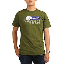 Organic Men's Head-Fi T-Shirt (dark)