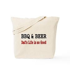 BBQ BEER Tote Bag