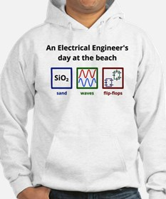 An Electrical Engineers day at the beach Hoodie