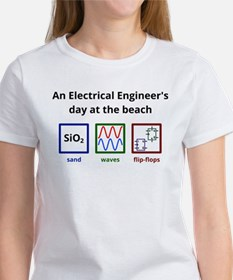 An Electrical Engineers day at the beach T-Shirt