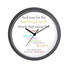 Can you say 'generic'? Wall Clock