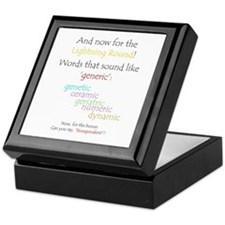 Can you say 'generic'? Keepsake Box