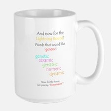 Can you say 'generic'? Mug
