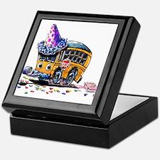 Party Bus Keepsake Box