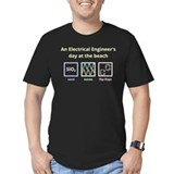 Electrical engineer Fitted T-shirts (Dark)