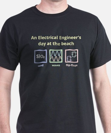An Electrical Engineers day at the beach (for dark