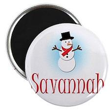 Snowman - Savannah Magnet