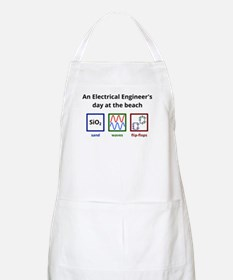 An Electrical Engineer's day at the beach Apron