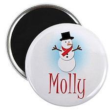 Snowman - Molly Magnet