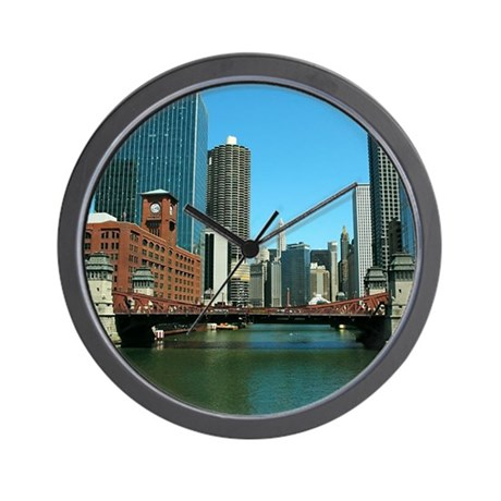 Chicago Waterfront Wall Clock