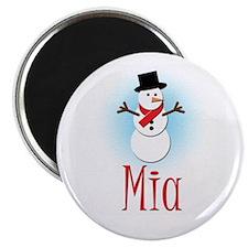Snowman - Mia Magnet