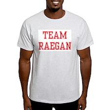 TEAM RAEGAN  Ash Grey T-Shirt
