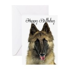 Belgian Tervuren Birthday Card