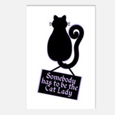Cat Lady Postcards (Package of 8)