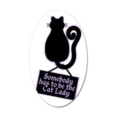 Cat Lady Wall Decal