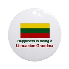 Lithuanian Grandma Ornament
