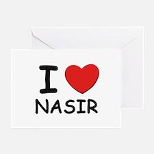 I love Nasir Greeting Cards (Pk of 10)