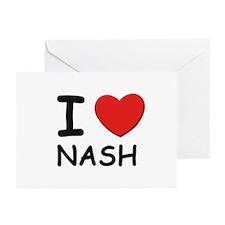 I love Nash Greeting Cards (Pk of 10)