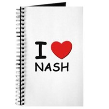 I love Nash Journal