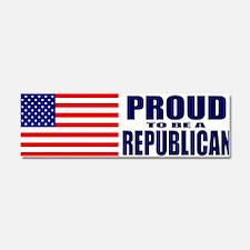 Cute Proud to be a republican Car Magnet 10 x 3