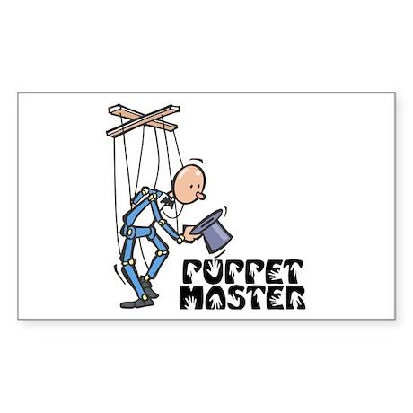 Puppet Master - Rectangle Sticker