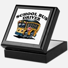 Cool School bus driver Keepsake Box