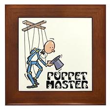 Puppet Master -  Framed Tile