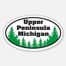 Upper Peninsula Oval Decal