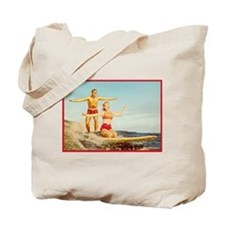 vintage surfers Tote Bag