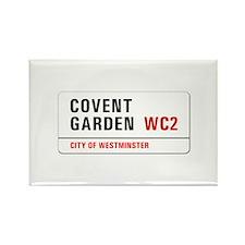 Covent Garden, London - UK Rectangle Magnet