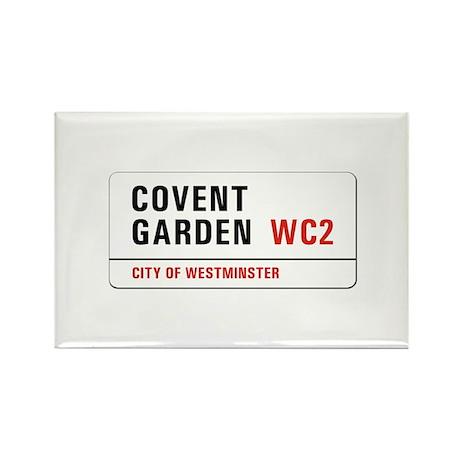Covent Garden, London - UK Rectangle Magnet (100 p
