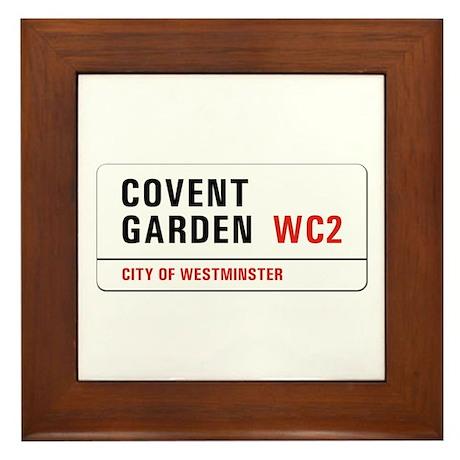 Covent Garden, London - UK Framed Tile