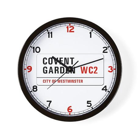 Covent Garden, London - UK Wall Clock