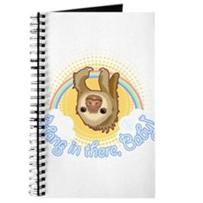 Hang In There Sloth Journal