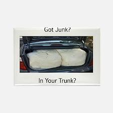 Got Junk? Rectangle Magnet