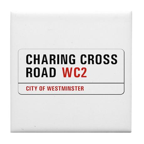 Charing Cross Road, London - UK Tile Coaster