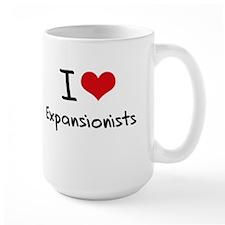 I love Expansionists Mug
