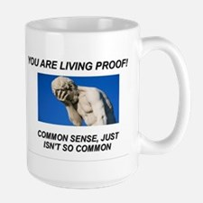 Lack of common sense Mug