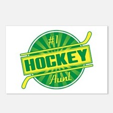 #1 Hockey Aunt Postcards (Package of 8)