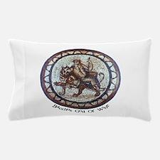 Bacchus God of Wine Pillow Case