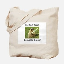 Funny woodchuck Tote Bag