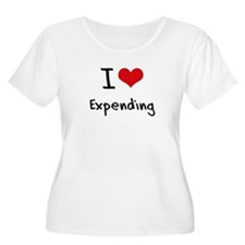 I love Expending Plus Size T-Shirt